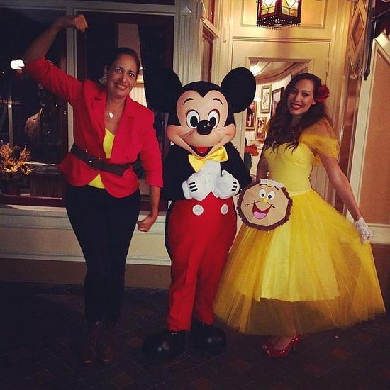11. Belle-asu Halloweeniksi