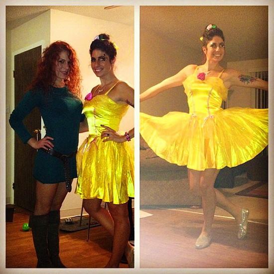12. Belle-asu Halloweeniksi