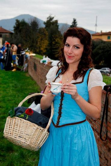 3. Belle-asu Halloweeniksi