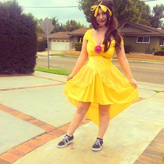 5. Belle-asu Halloweeniksi