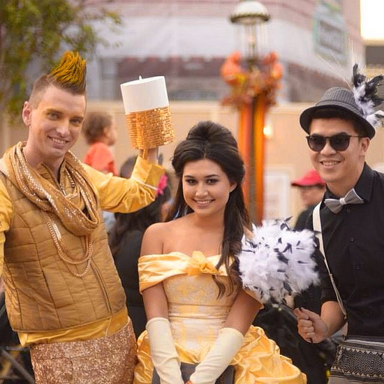 9. Belle-asu Halloweeniksi