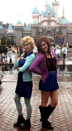 Halloween-asut – Anna, Elsa