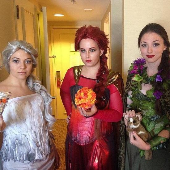 Halloween-asut – Elsa