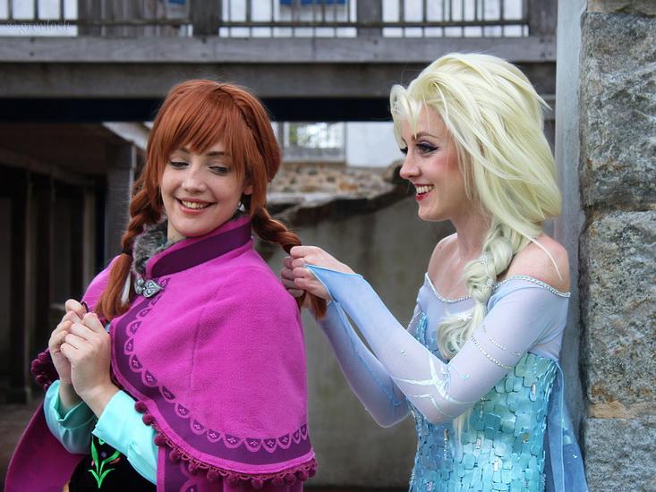 Halloween-asut – Anna, Elsa ja Olaf