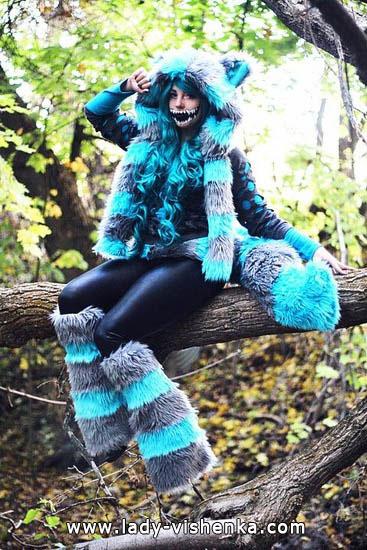 1. Halloweenin kissa-asu aikuinen