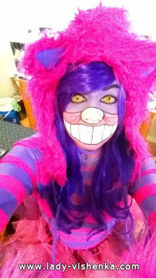 13. Halloweenin kissa-asu aikuinen