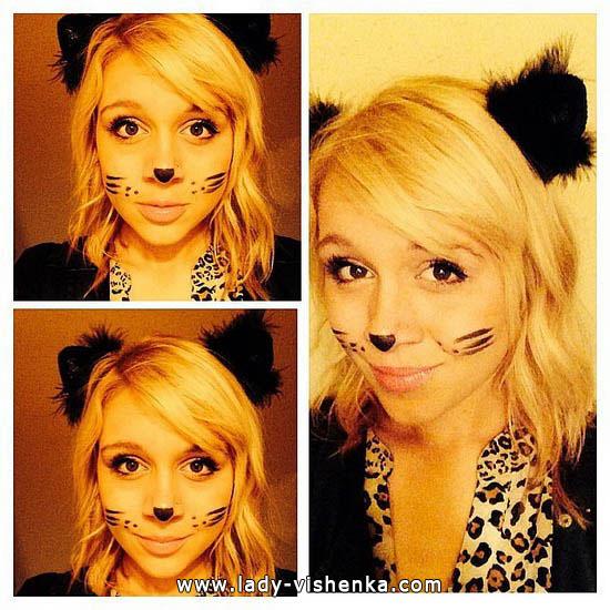 7. Halloweenin kissa-asu aikuinen