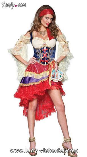 . Esmeralda Halloween-asut aikuinen