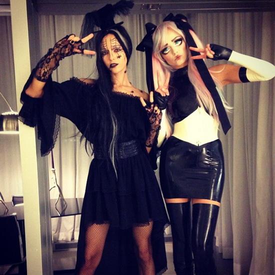 Mallit - Natasha Poly ja Valentina Zelyaeva Halloween