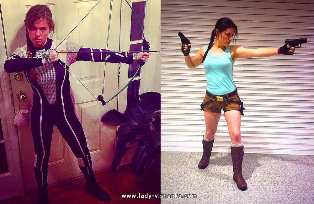 "Lara Croft tai Katniss (elokuva ""Hunger games"")"