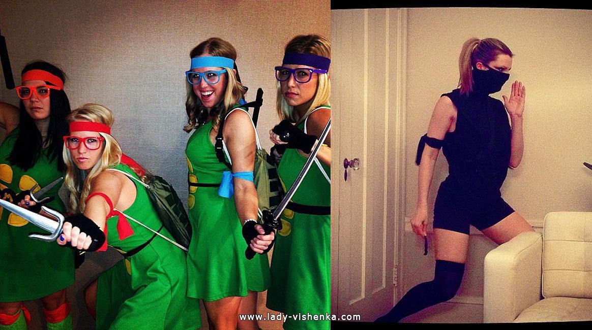 Ninja kilpikonna tai Ninja