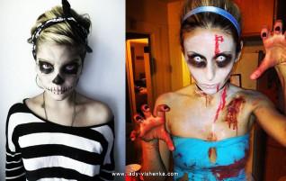 Halloween-asut teinitytöille