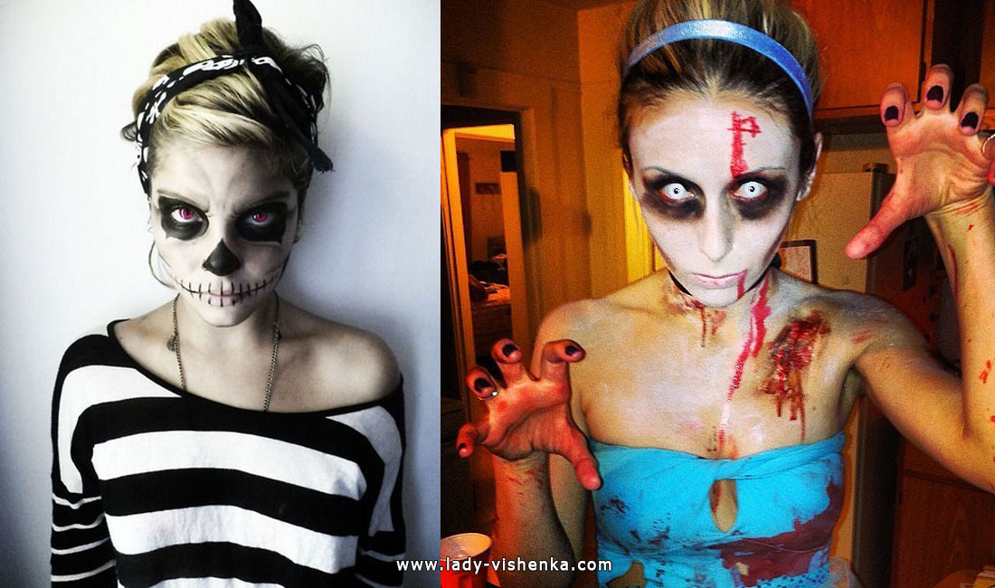 Luuranko tai zombeja