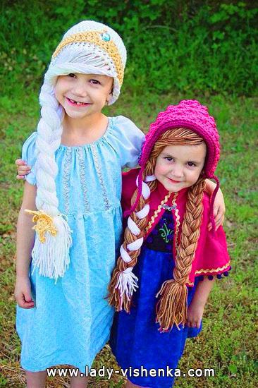 11. Tyttöjen halloween asut (4-6-vuotiaalle)