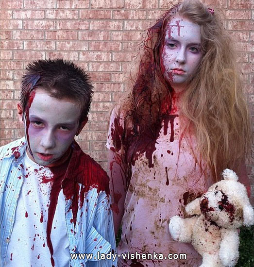 3. Halloween asut tytöille