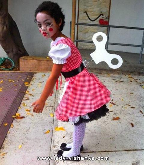 2. Tyttöjen halloween asut (4-6-vuotiaalle)