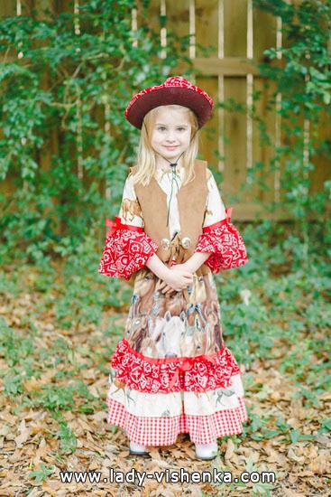 52. Tyttöjen halloween asut (4-6-vuotiaalle)