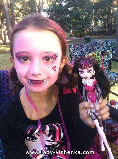 6. Tyttöjen halloween asut (4-6-vuotiaalle)