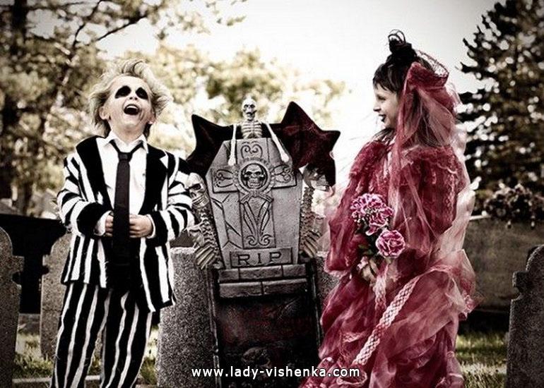 11. Halloween asut tytöille