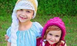 Tyttöjen halloween asut (4-6-vuotiaalle)