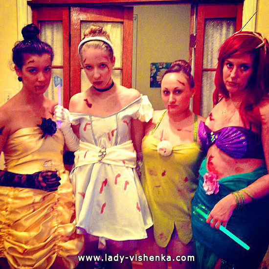 1. Disney-prinsessa Halloween-asut aikuinen