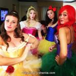 Disney-prinsessa-asut Halloweeniksi