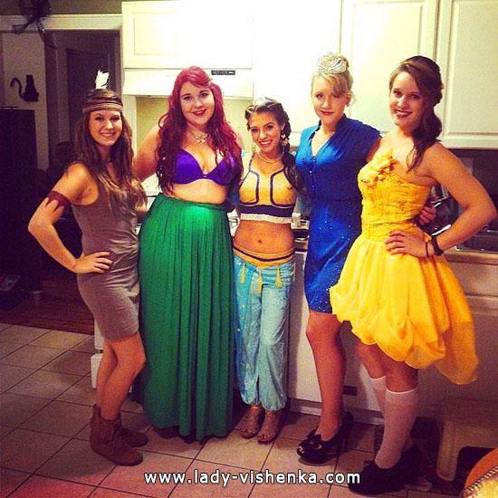 8. Disney-prinsessa Halloween-asut aikuinen