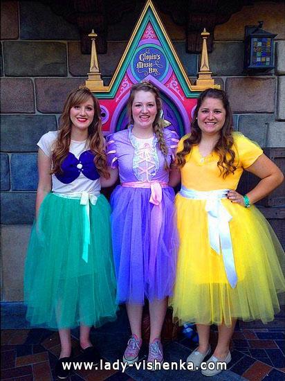 9. Disney-prinsessa Halloween-asut aikuinen