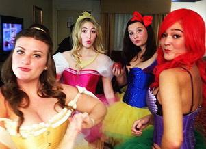 Disney prinsessat Halloween