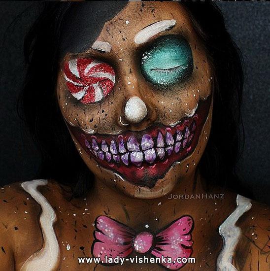 3. Halloween meikit