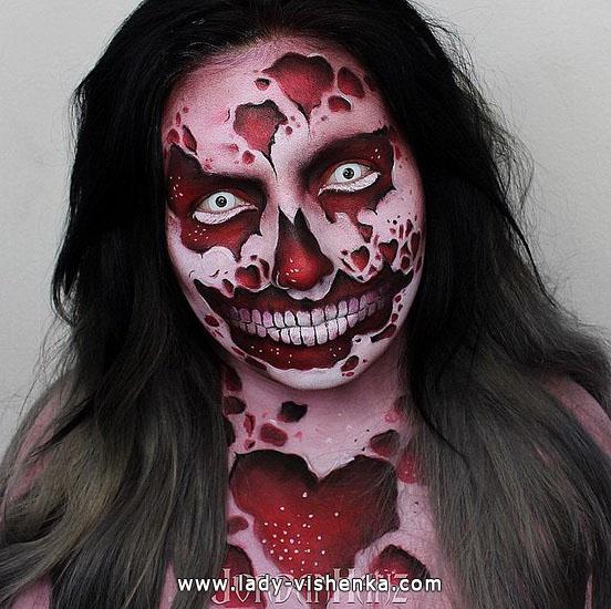 7. Halloween meikit