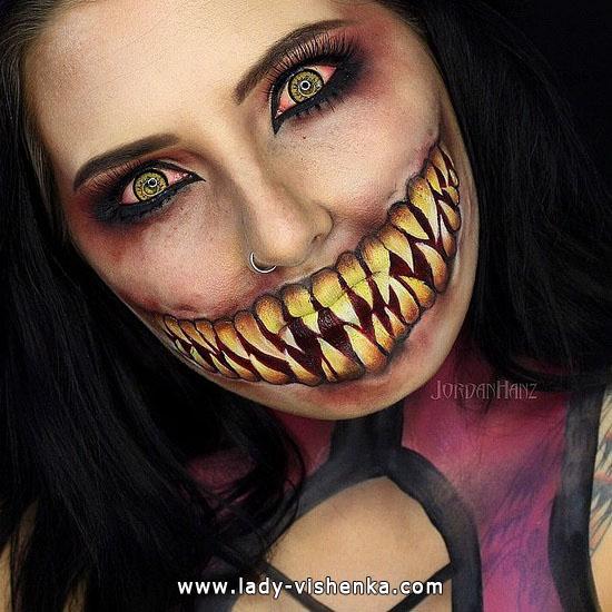 9. Halloween meikit