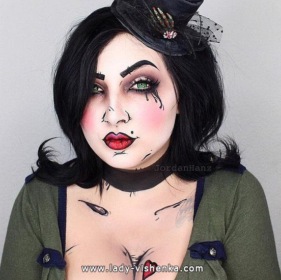 10. Halloween meikit