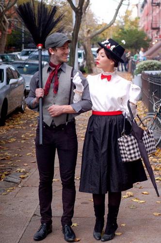 24. Pariskuntien Halloween-asut