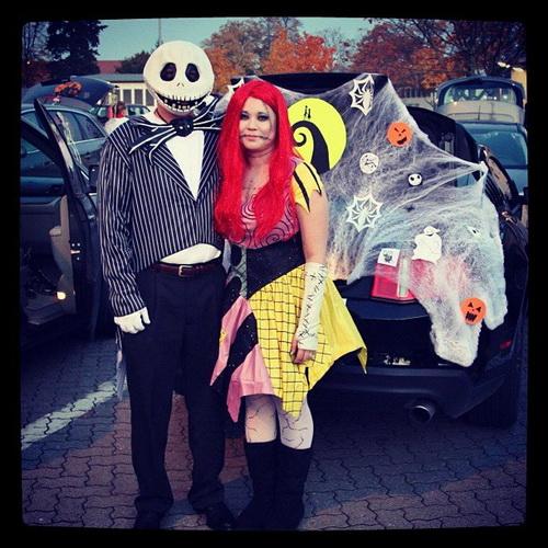 58. Pariskuntien Halloween-asut