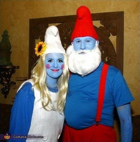 76. Pariskuntien Halloween-asut