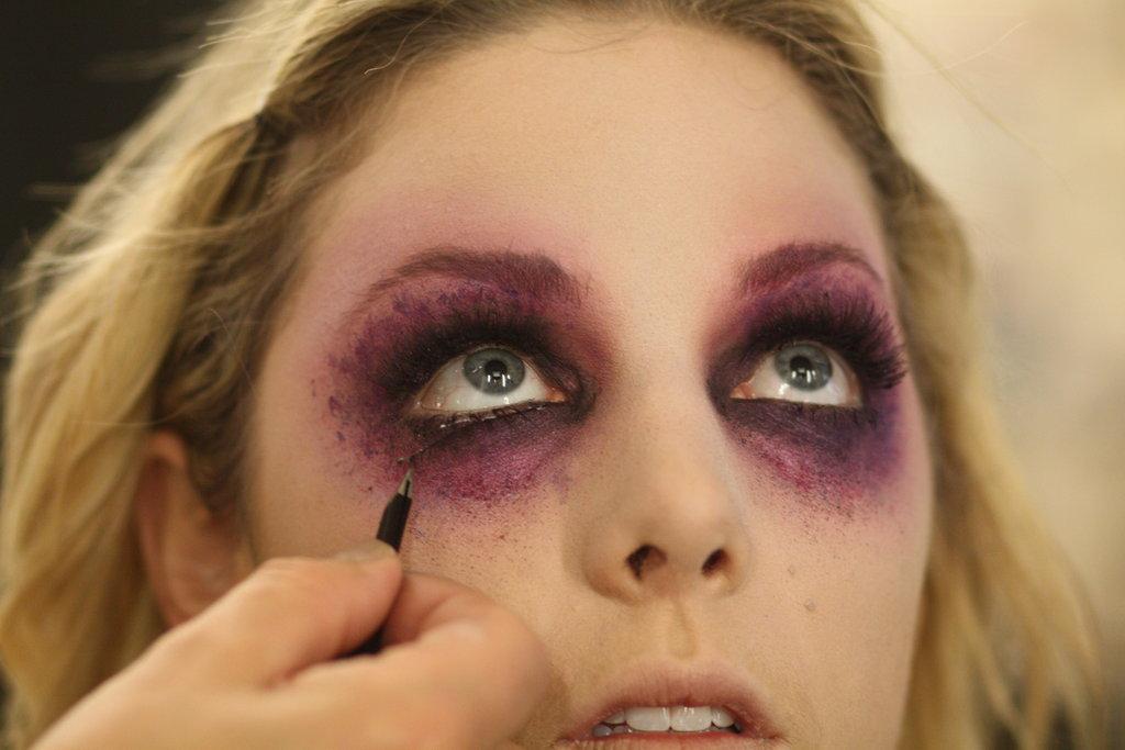 8. Noita-meikki Halloweeniksi