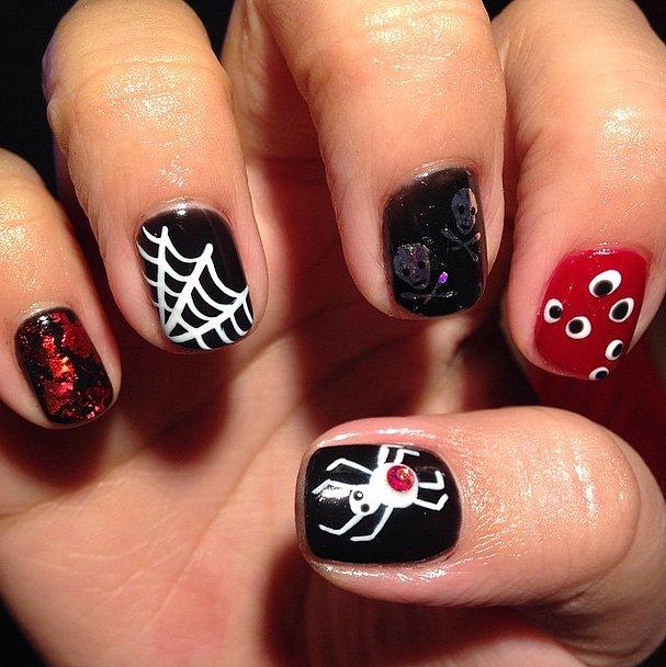 6. Halloween-manikyyri