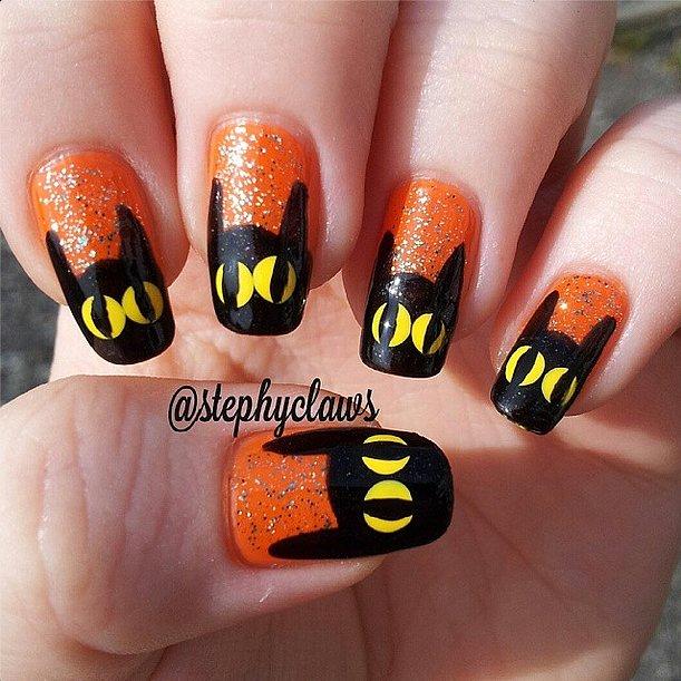 16. Halloween-manikyyri