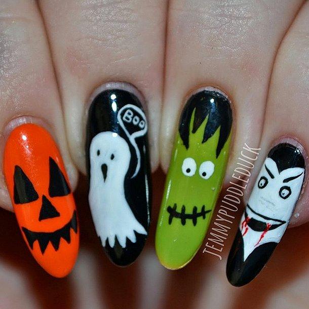 2. Halloween-manikyyri