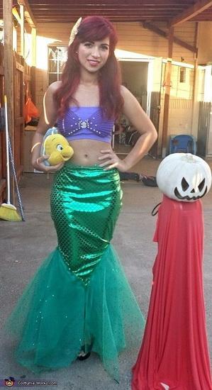 1. Ariel Halloween-asut aikuinen