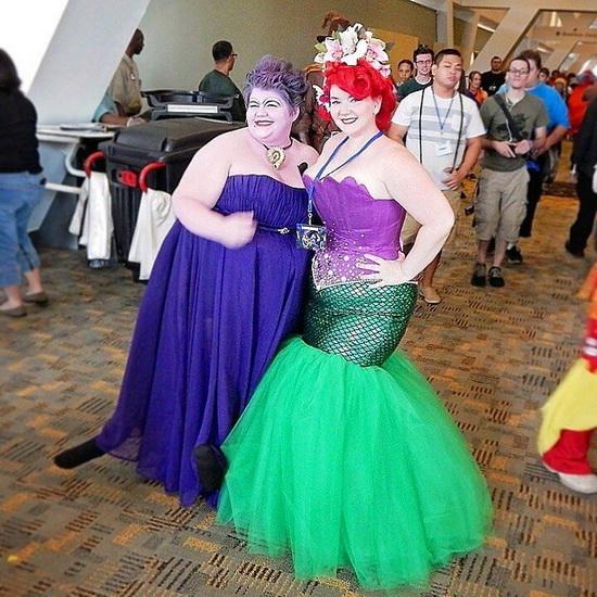 14. Ariel Halloween-asut aikuinen