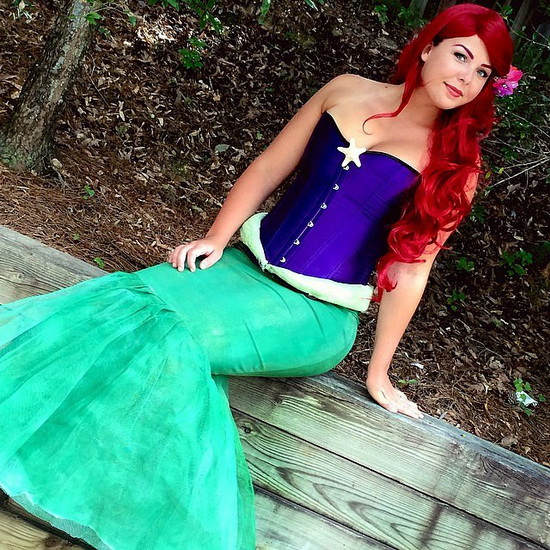 2. Ariel Halloween-asut aikuinen