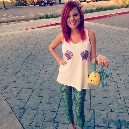 21. Ariel Halloween-asut aikuinen