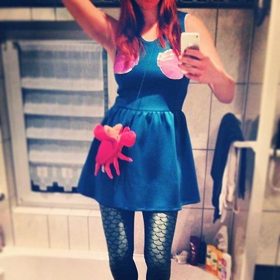 22. Ariel Halloween-asut aikuinen