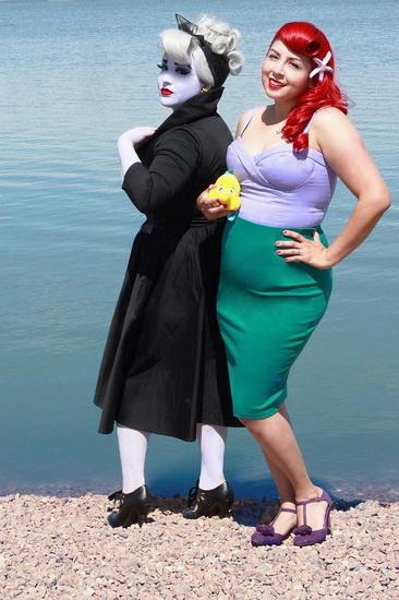 24. Ariel Halloween-asut aikuinen