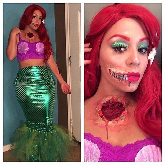 32. Ariel Halloween-asut aikuinen