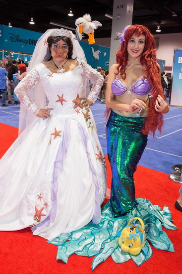 35. Ariel Halloween-asut aikuinen