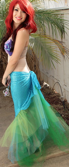 5. Ariel Halloween-asut aikuinen