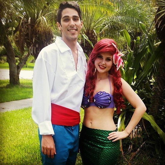 7. Ariel Halloween-asut aikuinen